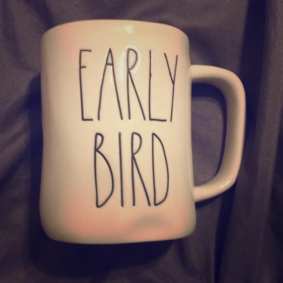 Rae Dunn Other - Rae Dunn Early Bird Coffee Mugs